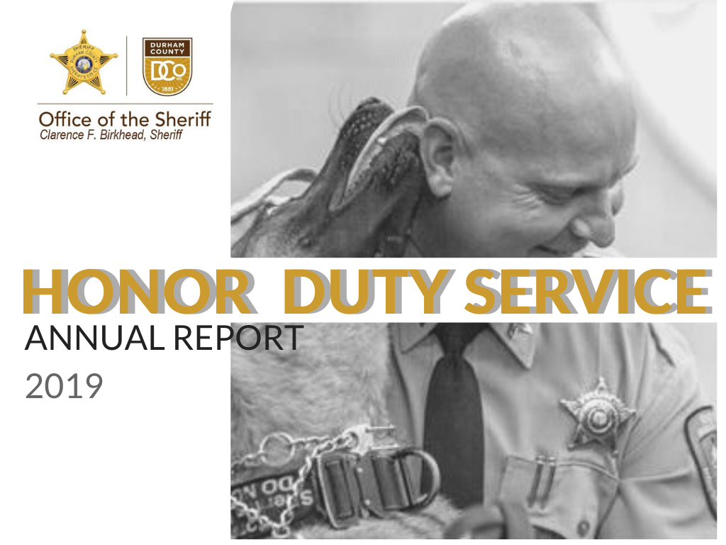 DCSO ANNUAL REPORT